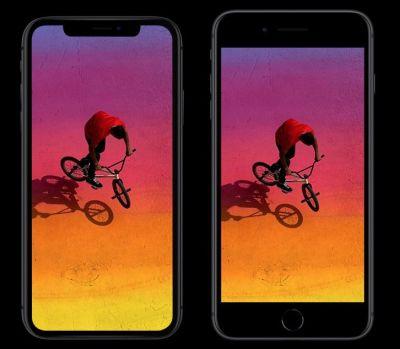 iPhone Xr displej