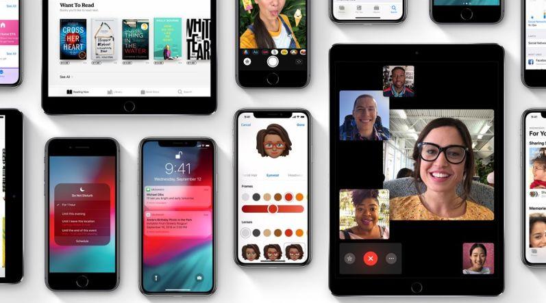 iPhone Xr iOS 12
