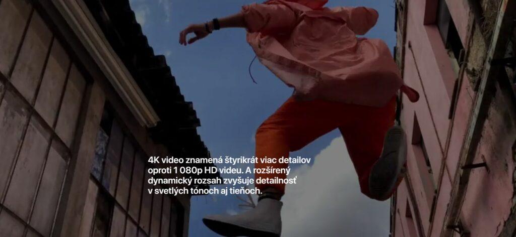 4K video znamená štyrikrát viac detailov